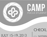 Print // Camp 220 Flyer