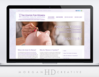 Center for Women - Branding and Website Design