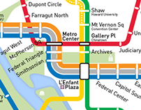 Washington Metro Map Redesign