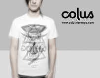 colus designer t-shirt launch collection