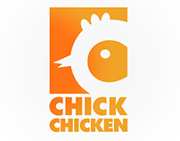 Chick Chicken Logo
