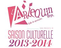 Arlequin - Livret Saison culturelle 2013+2014