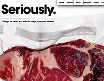 SeriouslyNYC (Personal Companys' Website)