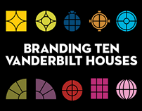 Branding the Houses of the Ingram Commons at Vanderbilt