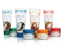 PACKAGING | MUSE cosmetics