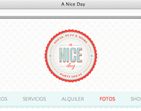 WebSite - A nice Day