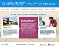 Homepage ReDesign for Brooklyn MB-CCOP
