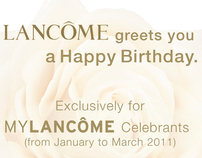 MY LANCOME Birthday Treat