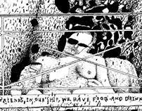"""Dan Reed Art 2013 """"Fame"""" 1/5"""