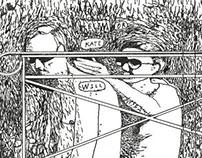 """Dan Reed Art 2013 """"Fame"""" 4/5"""