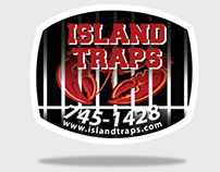 Island Traps Logo Design