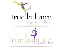 True Balance Logo & Wellness Concepts