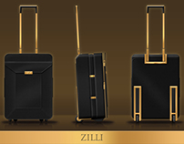Atelier du Sartel® for Zilli® - Trolley - 2010 / 2012