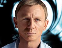 Daniel Craig | Digital Painting