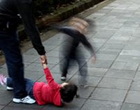 Children on movement