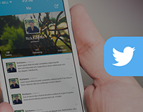 Twitter - iOS7 Redesign