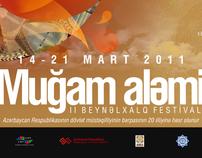 "II INTERNATIONAL MUGHAM FESTIVAL  ""SPACE OF MUGHAM"""