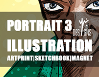 Portrait 3 Illustration