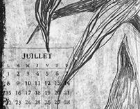 """""""Voyage autour de ma chambre"""" – 2013 calendar"""