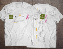 Team Panera Komen Race Shirt