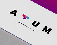 Atum Workstyle // Logo Design