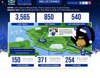 Blue Crimbo - Everton Christmas Social Campaign