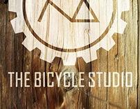 Logo design mock-up : The Bicycle Studio