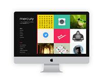 Mercury Portfolio Template