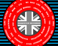 Shakster Records - Rock N Roll Volume 2 CD Covers