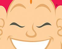 Character and Logo Design - Buda Bar e Restaurante