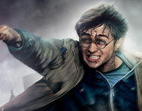 Harry Potter Character Poster from deathly hallows p2