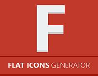 Flat Icons Generator