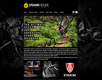 Crankhouse Cyclery web design