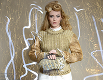 Light Painting: Knitwear by Alex Pengelly
