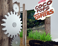 Coco Pops mall and in-store activation