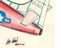 Toy Plane X-1