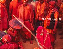 Holi at Nandgaon