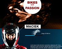 Motocycle Website
