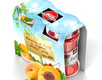 Packaging design for Schwartau
