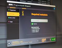 NRK customizations of Adobe Premiere Pro