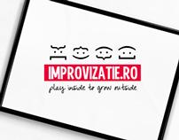 IMPROVIZATIE.RO // Branding