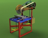Foot operated Cutting machine