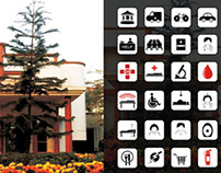 Wayfinding System at IIT Guwahati Medical Center