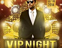 VIP Night Flyer Template
