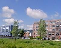 Appartementen Saendelft in Zaanstad 2003 - 2006