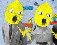 Lemongrab Poster