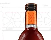 XANGO Juice Bottle