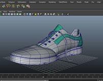 Shoe2 in maya 2014