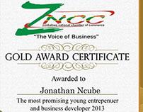 Zimbabwe National Chamber of Commerce 2013 Awards