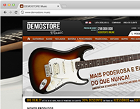 Website Proposal to Music Shop